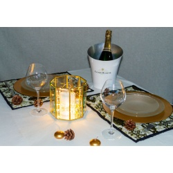 "set de table coton africain ethnique wax ""DONI"""